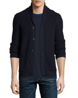 Rag & Bone - Avery Shawl-Collar Textured Cardigan