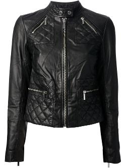 Michael Kors  - Cropped Biker Jacket