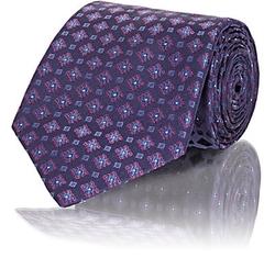 Brioni  - Micro-Medallion-Pattern Necktie