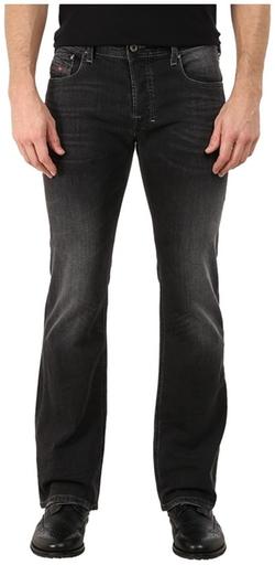 Diesel - Zatiny Trousers in Black/Denim