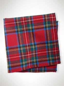 Polo Ralph Lauren - Stewart Tartan Pocket Square