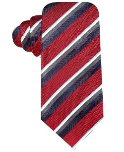 Countess Mara - Textured Satin Stripe Tie