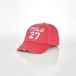 Ralph Lauren - Distressed Cotton Baseball Cap