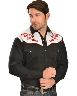 Ely Cattleman - Embroidered Western Shirt