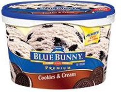 Blue Bunny - Premium Cookies & Cream Ice Cream