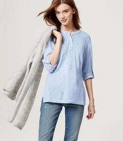 Loft - Knit Utility Shirt