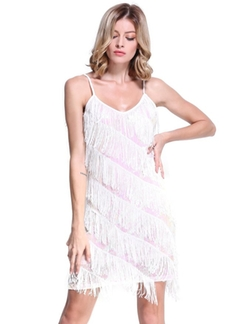 PrettyGuide - 1920s Flapper Inspired Party Latin Dress