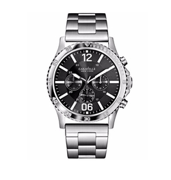 Caravelle New York - Chronograph Stainless Steel Bracelet Watch