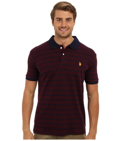 U.S. Polo Assn.  - Slim Fit Interlock Stripe Polo