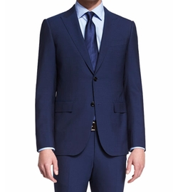 Ermenegildo Zegna  - Torino Peak-Lapel Two-Piece Wool Suit