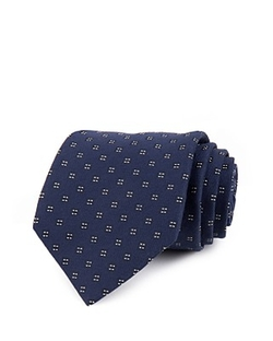 John Varvatos Star USA - Four Dot Squares Classic Tie