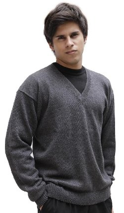 Alpaca Warehouse - Superfine Alpaca Knitted V-Neck Sweater