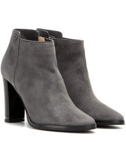 Jimmy Choo  - Hart Embossed Leather Ankle Boots