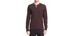 Rag & Bone  - Standard Issue Henley Shirt