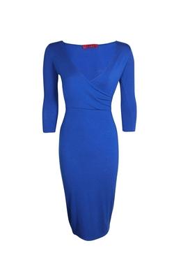 Boohoo Night - Laura Midi Wrap Dress