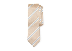 Vince Camuto - Gauze Stripe Silk And Polyester Tie