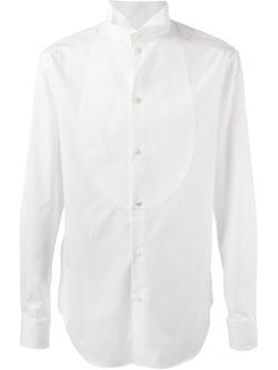 Armani Collezioni - Wing Tip Collar Bib Shirt