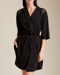 Nancy Meyer - Tulle Kimono Robe