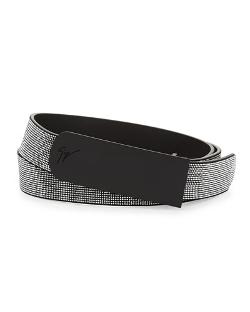 Giuseppe Zanottimen - Studded Leather Belt