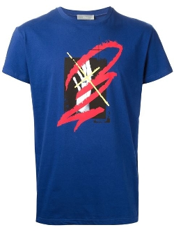 Dior Homme - Abstract Print T-Shirt