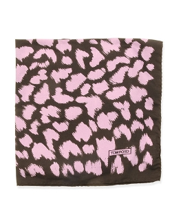 Tom Ford - Animal-Print Pocket Square