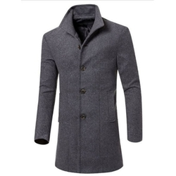 Megaerobe - Slim Fit Wool Coat