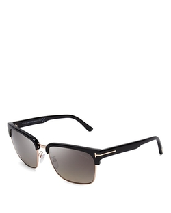 Tom Ford  - Polarized River Wayfarer Sunglasses