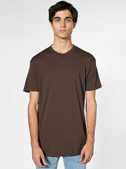 Poly-Cotton  - Short Sleeve Crew Neck T-Shirt