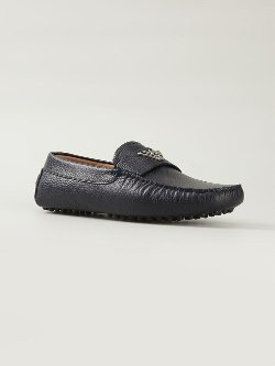 Emporio Armani  - Logo Classic Loafer Shoes