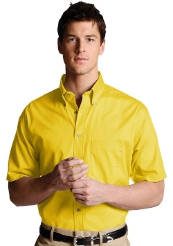 Ed Garments - Button Down Short Sleeve Poplin Shirt