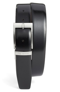 Ted Baker London  - Reversible Leather Belt