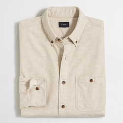 J. Crew - Factory Rugged Elbow-Patch Shirt