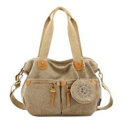 Artone  - Water Resistant Canvas Shoulder Bag