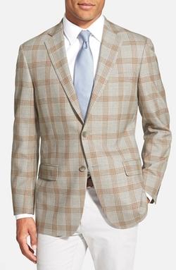 Hart Schaffner Marx - Classic Fit Plaid Wool Sport Coat