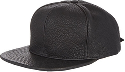 Just Don - Pebble Leather Baseball Cap