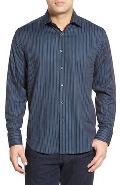 Bugatchi - Stripe Sport Shirt