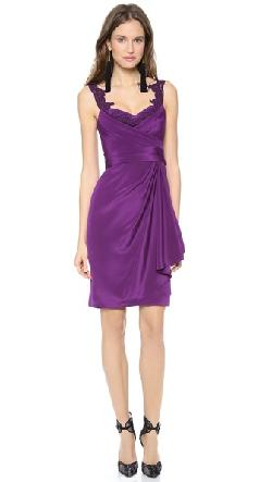 Notte by Marchesa - Silk Crepe Dress