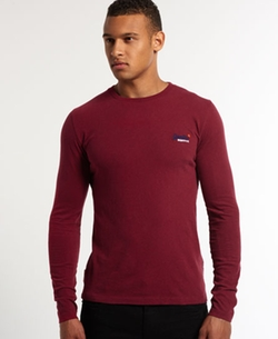 Superdry - Vintage Embroidery Long Sleeve T-Shirt