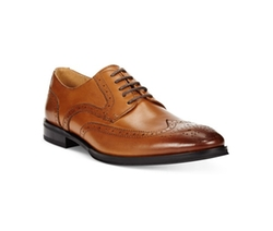 Alfani  - Platinum Miller Wing-Tip Derby Shoes