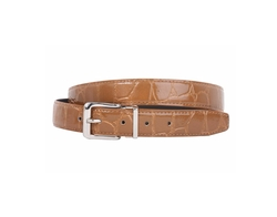 Beltiscool - Alligator Grain Patent Leather Belt