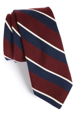 Todd Snyder White Label - Stripe Cotton & Silk Tie