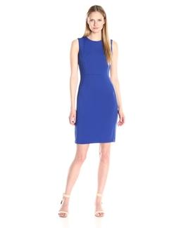 Calvin Klein  - Seamed Sleeveless Sheath Dress