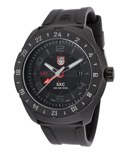 Luminox - SXC Space Black Rubber And Dial Watch