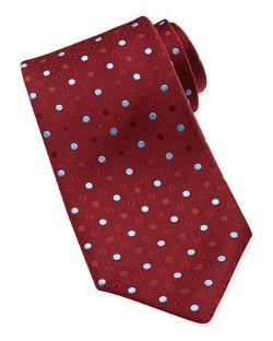 Charvet  - Dotted Silk Tie