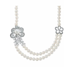Lord & Taylor - Pearl Crystal Necklace