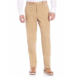 Zanella  - Flat-Front Wool Pants