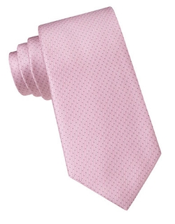 DKNY  - Silk Dotted Stripe Tie