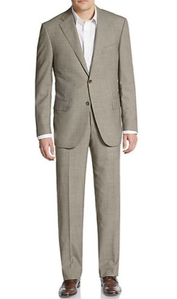 Corneliani - Regular-Fit Checked Virgin Wool Suit