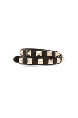 Valentino  - Rockstud Double Wrap Bracelet