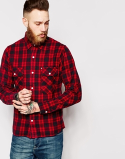 Asos - Check Long Sleeve Shirt